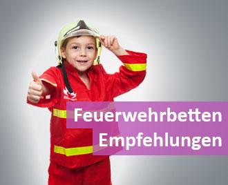 Feuerwehrbett-Kinderbett-Feuerwehr