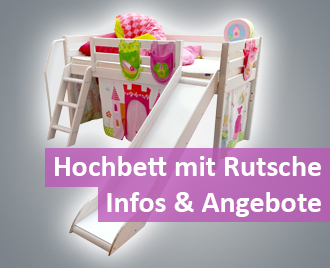 hochbett mit rutsche infos aktuelle angebote. Black Bedroom Furniture Sets. Home Design Ideas