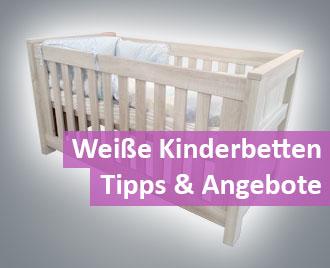 Kinderbett-weiß