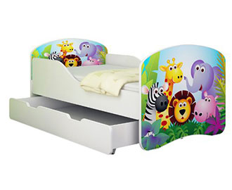 kinderbett mit lattenrost und matratze my blog. Black Bedroom Furniture Sets. Home Design Ideas