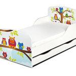 Leomark Kinderbett 140x70 mit Schublade und Matratze
