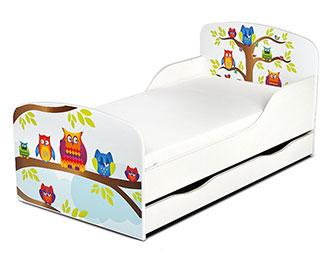 Leomark-Kinderbett-140×70-mit-Schublade-und-Matratze